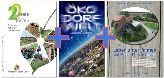 20 Jahre Ökodorf Sieben Linden + Öko Dorf Welt + Leben unter Palmen